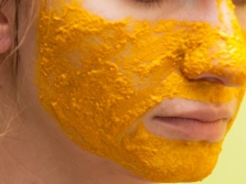 Máscara com açafrão e murray