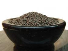 Melnās sinepju sēklas