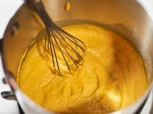 Mistura de mostarda para envoltórios