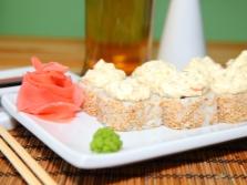 Sushi mit Sesam