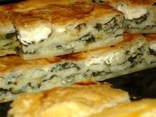 Киселец и домашен пай със сирене