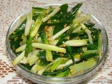 Salat mit Bärlauch