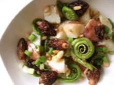Morel Salad