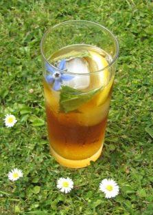 Limonada Saludable Con Hierba De Pepino