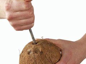 Hogyan nyitható meg egy kókusz