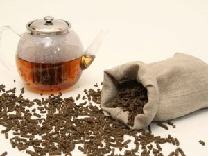 Preparação de chá de salgueiro