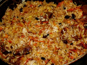 Barberry pilaf