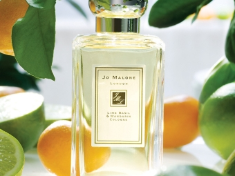 Parfüm mit Noten von Basilikum