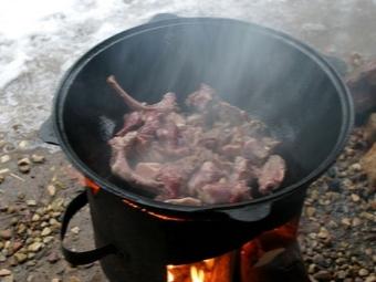 Proces gotowania Kovurma