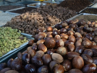Индийският орех на индийския пазар