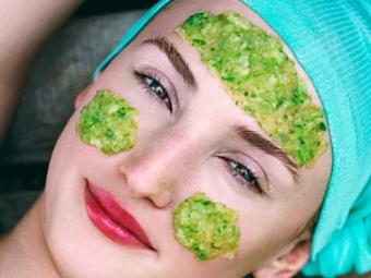 Petersilie Gesichtsmaske