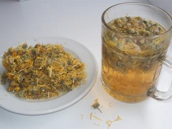 Use na medicina calêndula de infusão de água