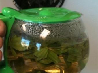 Τσάι με πραλίνα