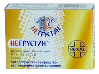 Hypericum ekstrak tablet