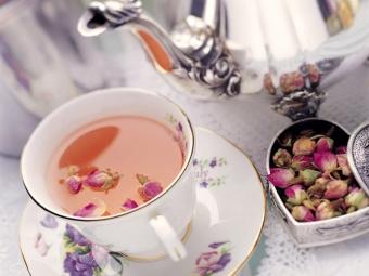 Rozā ziedlapiņu novārījums