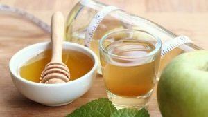 Ξύδι μηλίτης μήλου με μέλι: Ιδιότητες και εφαρμογές