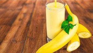 Банан с мляко: ползите и вредата, рецепти за готвене