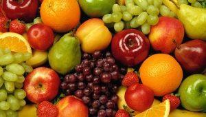 Como e que tipo de fruta você pode comer à noite?