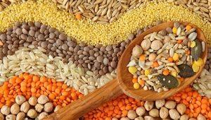 Bijir bebas gluten: senarai, sifat asas dan aplikasi