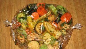 Kepkite daržoves į rankovę