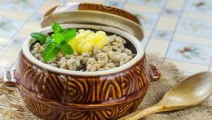 ¿Cómo cocinar gachas de cebada en una olla de cocción lenta?