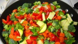 Kaip virti daržoves al dente?