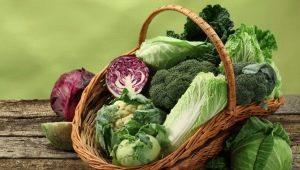 Kryžminių daržovių sąrašas