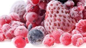 Fagyasztott bogyók: leírás, beszerzési szabályok és felhasználási módok
