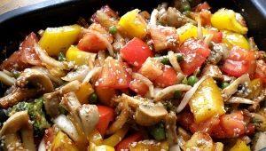 Keptos daržovės: savybės ir receptai