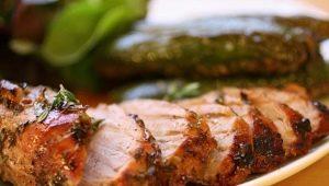Kepta kiauliena: savybės, maistinė vertė ir virimo receptai