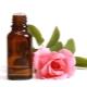 Aceite esencial de rosa y casero.