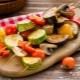 Šašlykų gaminimas iš daržovių