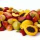 Quais frutas contêm muita proteína?