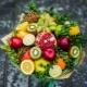 Buquês de frutas: variedades, regras de fabricação e exemplos originais