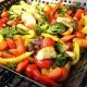 Kaip virti keptas daržoves krosnyje?