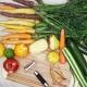 Daržovių valymo ir pjaustymo peiliai: savybės ir rūšys
