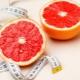 Toranja para perda de peso: as dietas de opções de benefícios e danos