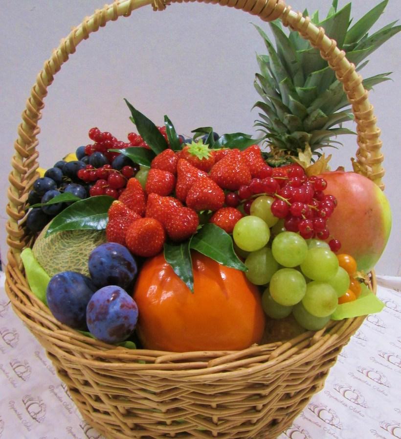 طريقة عمل سلة فاكهة 20 وصفة