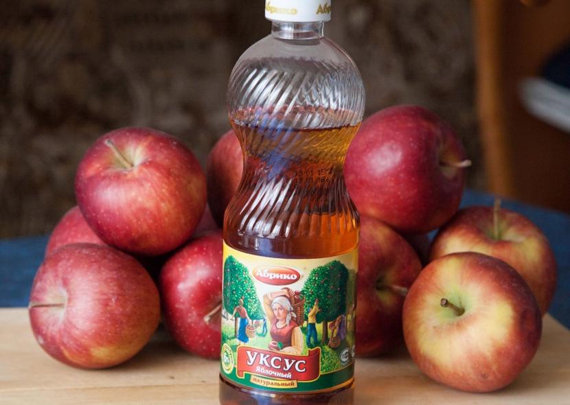 Лечение на псориазис с ябълков оцет