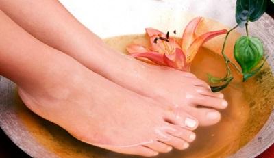 Banho de pés