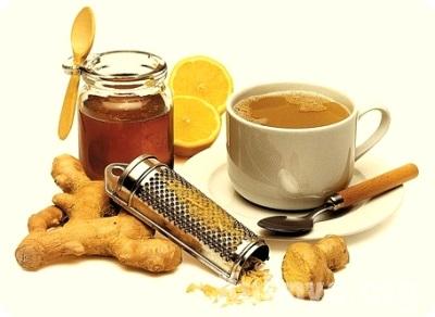 Teh dengan halia, kayu manis dan madu