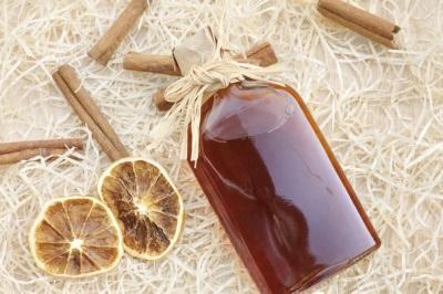 Madu dan Cinnamon Minuman