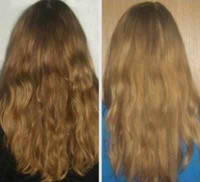 Λαμπερό μαλλιά με κανέλα και μέλι