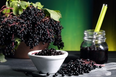 Jam hitam elderberry