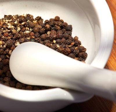 Propriedades úteis de pimenta preta
