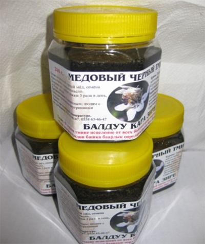 Honig mit Schwarzkümmel