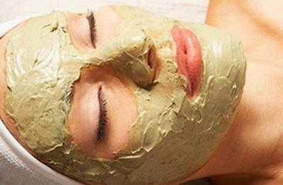 Μάσκα προσώπου με αφέψημα βαρυτικό