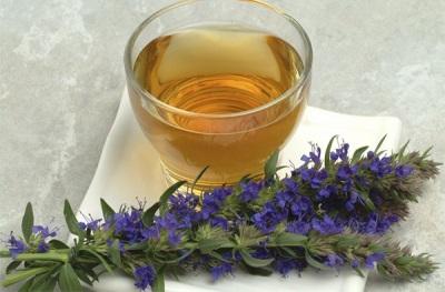 Τσάι με υσόπ