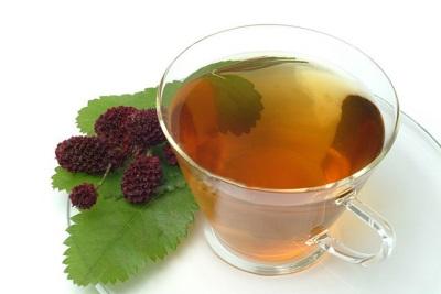 Herbata z potrawy z trawy
