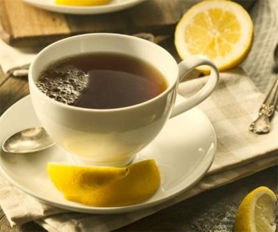Teh dengan cumin dan lemon